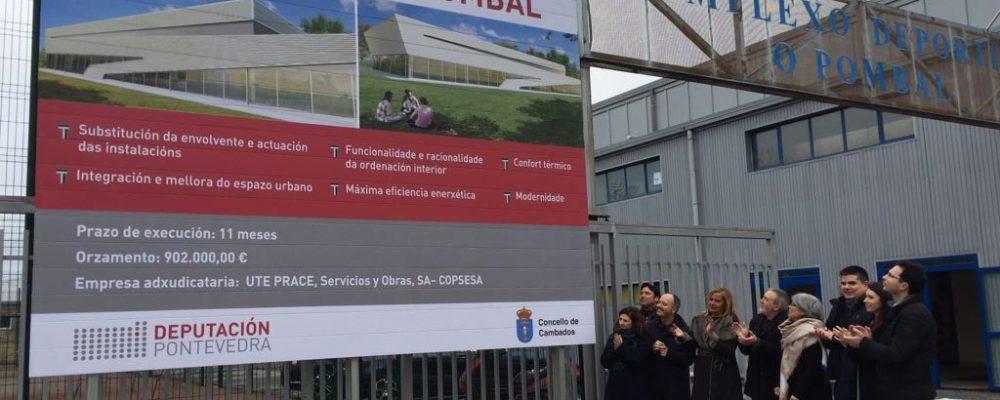 Presentación e comezo das obras de reforma da Piscina Municipal do Pombal