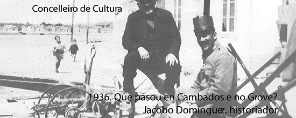 CONFERENCIA-DEBATE: A REPÚBLICA E O GALEGUISMO, 1936