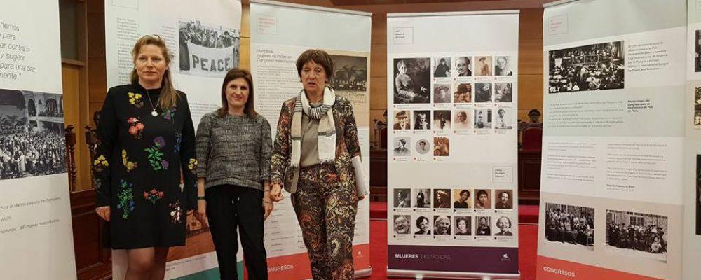 """PRESENTACIÓN DE LA EXPOSICIÓN """" 100 AÑOS DE FEMINISMO PACIFISTA"""""""