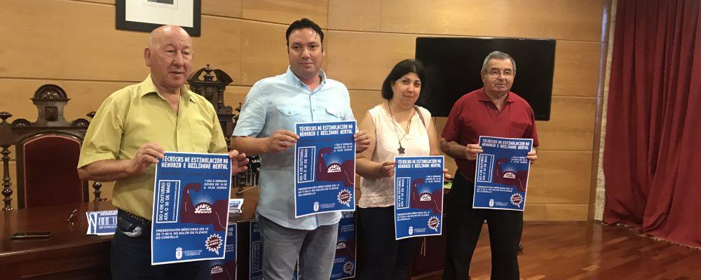 CAMBADOS PROMOVE UN CURSO DE ESTIMULACIÓN DA MEMORIA PARA MAIORES DE 60 ANOS
