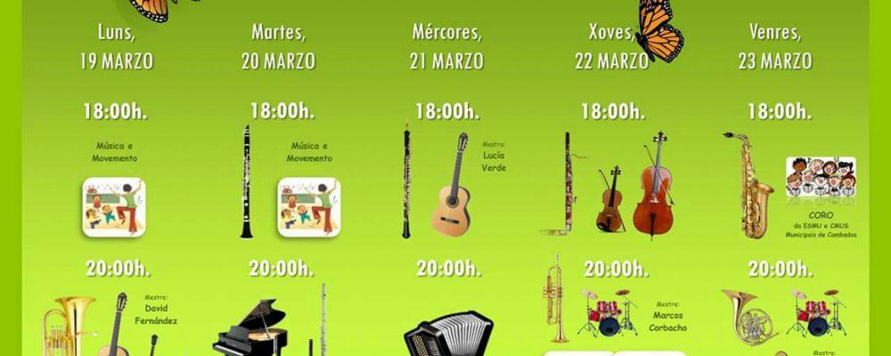Actividades da Escola de Música e do Conservatorio Municipais