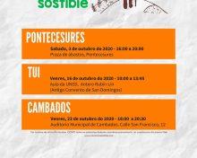 """Proxecto """"O CAMIÑO SOSTIBLE"""", iniciativa de Dinamización que forma parte do programa """"O TEU XACOBEO"""" chega a Cambados"""