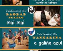 DOMINGOS DE TEATRO INFANTIL E FAMILIAR NO AUDITORIO DA XUVENTUDE
