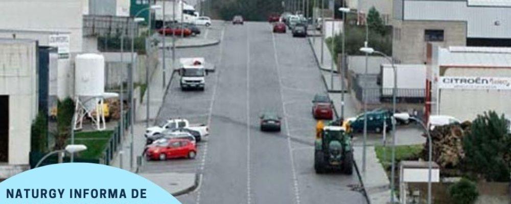 NATURGY INFORMA DE CORTES DE SUBMINISTRO ELECTRICO NO POLIGONO INDUSTRIAL DE CAMBADOS