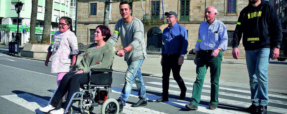 Campaña de educación vial para peatones
