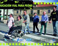 Campaña de educación vial para peóns