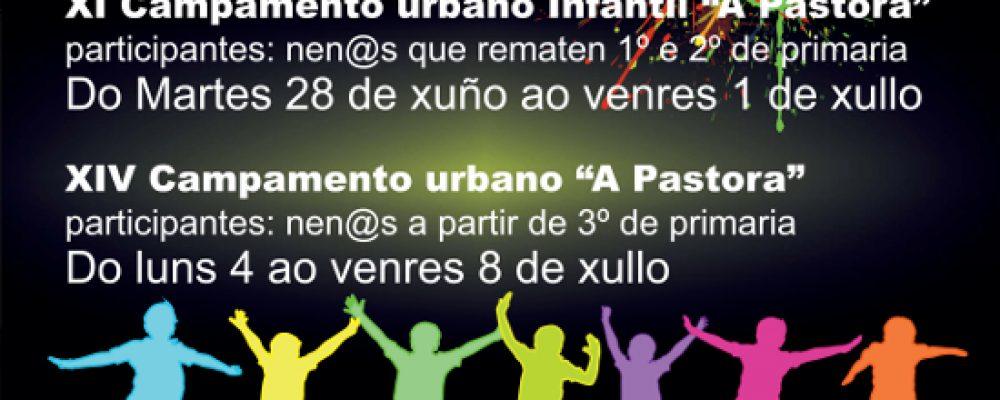 EXCURSIÓN AO PARQUE ACUÁTICO E CAMPAMENTOS URBANOS