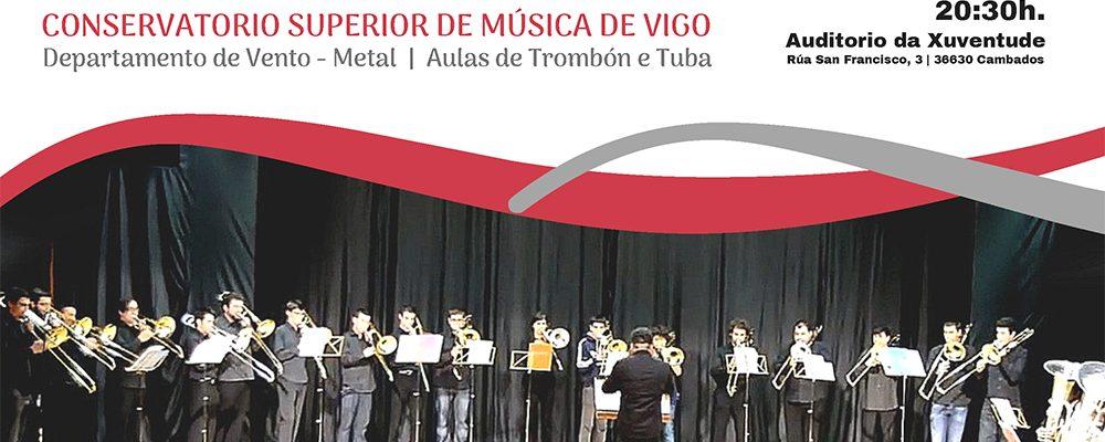 Concerto do conservatorio superior de música de Vigo no auditorio da Xuventude