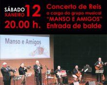 Concerto de Reis con Manso e amigos