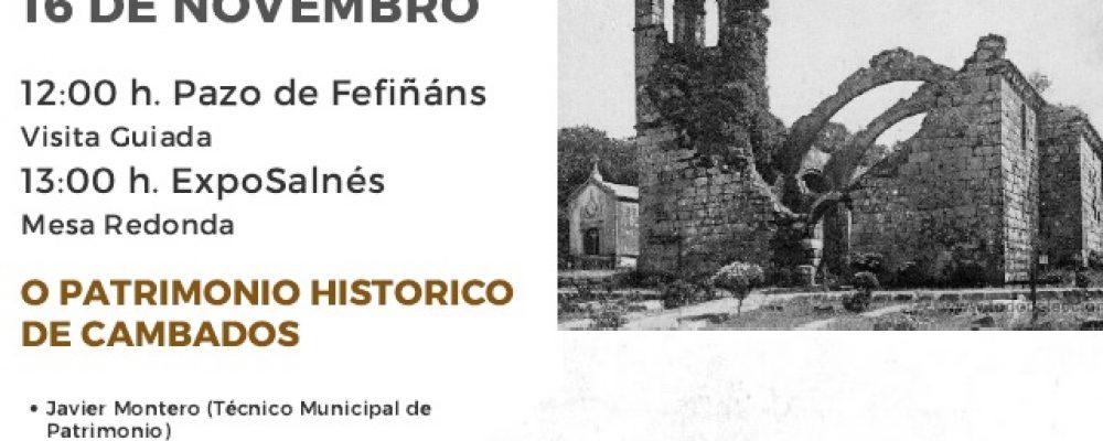 CAMBADOS CELEBRA O DÍA INTERNACIONAL DO PATRIMONIO