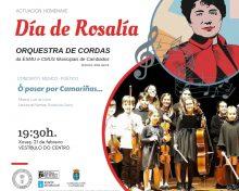 Día de Rosalía y programación de carnaval en la escuela de música y conservatorio
