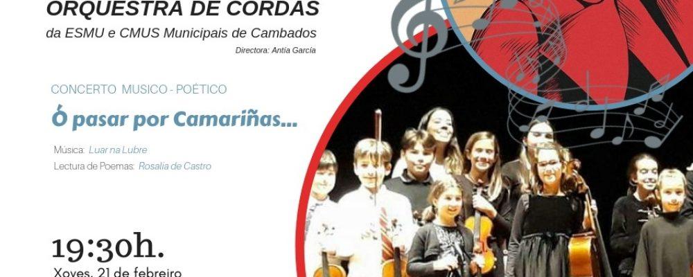 Día de Rosalía e programación de entroido na escola de música e o conservatorio