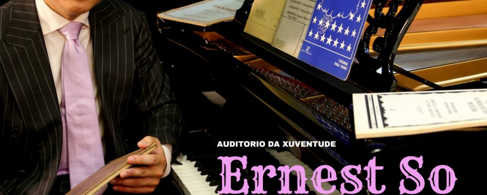 Le glamour du piano: recital de música francesa a cargo del pianista Ernest So