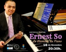 Le glamour du piano: recital de música francesa a cargo do pianista Ernest So
