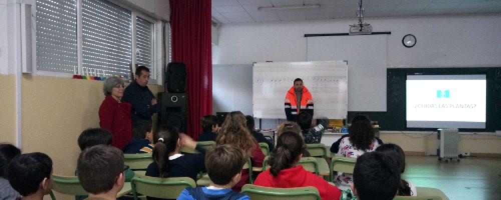 Rematan as charlas sobre a separación e a reciclaxe no CEIP Antonio Magariños