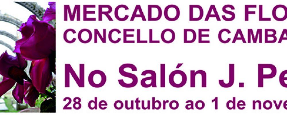 MERCADO DAS FLORES NO SALÓN JOSÉ PEÑA