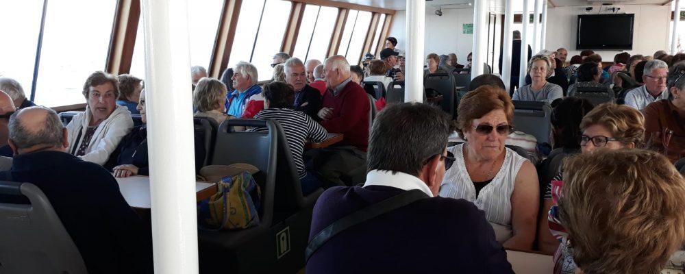 A Concellería de Terceira Idade de Cambados organiza una excursión á Ribeira Sacra e aos Canóns do Sil