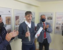 Laureano Araujo recibiu o Premio Plácido Castro de Tradución