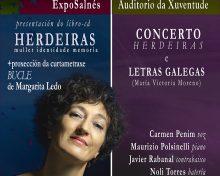 Presentación y concierto: Herdeiras, de Carmen Penim