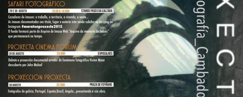 PROGRAMA DO FESTIVAL PROXECTA 2015