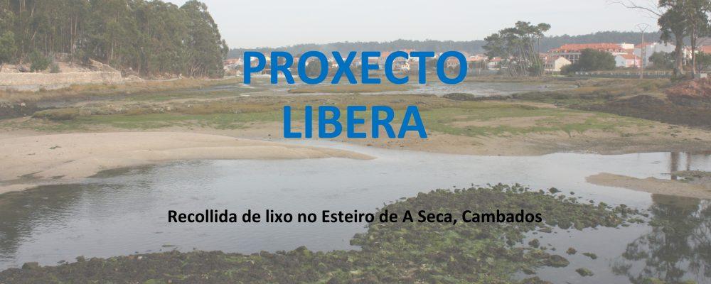 Proxecto Libera: recollida de lixo no esteiro da Seca