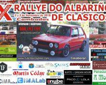 """X RALLYE DO ALBARIÑO DE CLASICOS 2 E 3 NOVEMBRO """"CAMBADOS"""""""