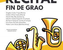 Recital de fin de grao do conservatorio elemental de música de Cambados