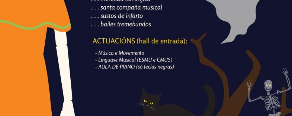 A escola de música e o conservatorio celebran o Samaín