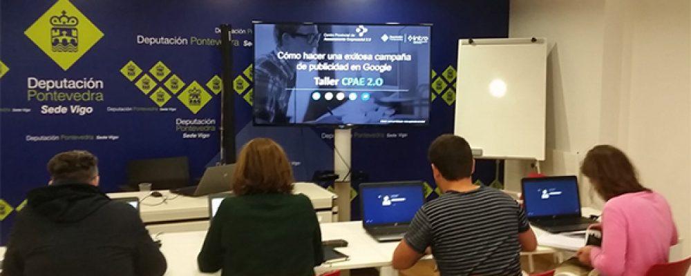 A DEPUTACIÓN DE PONTEVEDRA PON EN MARCHA 41 CURSOS DE NOVAS TECNOLOXÍAS NOS SEUS CENTROS CPAE 2.0 ESTE MES DE OUTUBRO