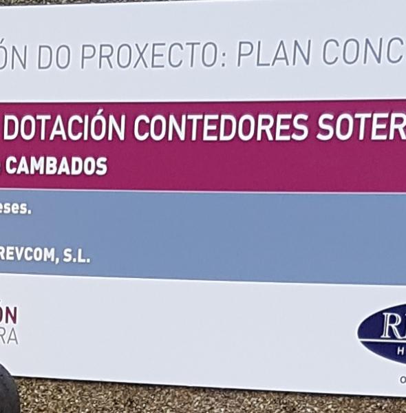ANUNCIO ADXUDICACIÓN DAS OBRAS DE DOTACIÓN DE CONTEDORES SOTERRADOS NA RÚA FONTE DE FEFIÑÁNS