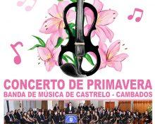 Concerto de primavera da banda de música de Castrelo