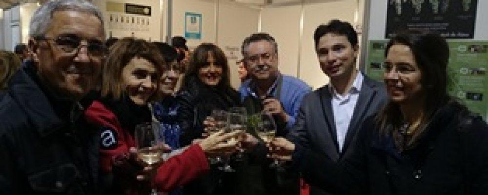 O CONCELLO DE CAMBADOS PROMOCIONA O ENOTURISMO NA FEIRA DE ARDOARABA DE VITORIA