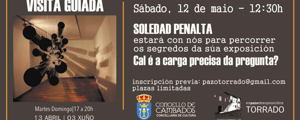 Visita guiada con Soledad Penalta