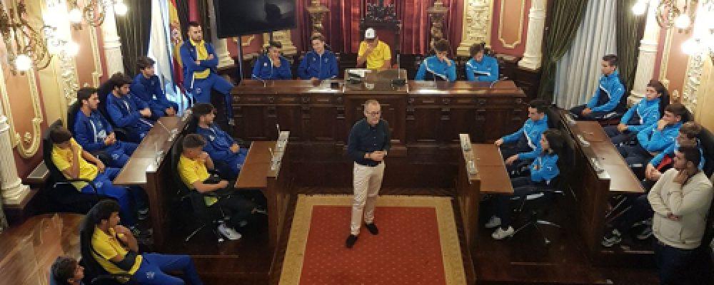 RECEPCIÓN OFICIAL DO CJ CAMBADOS XUVENIL NO CONCELLO DE OURENSE