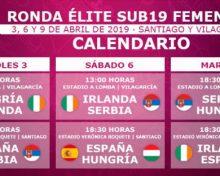 Ronda élite sub19 de futbol feminino: a selección serbia adestrará en Burgáns