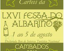 Bases do concurso do cartel para a LXVI Festa do Albariño