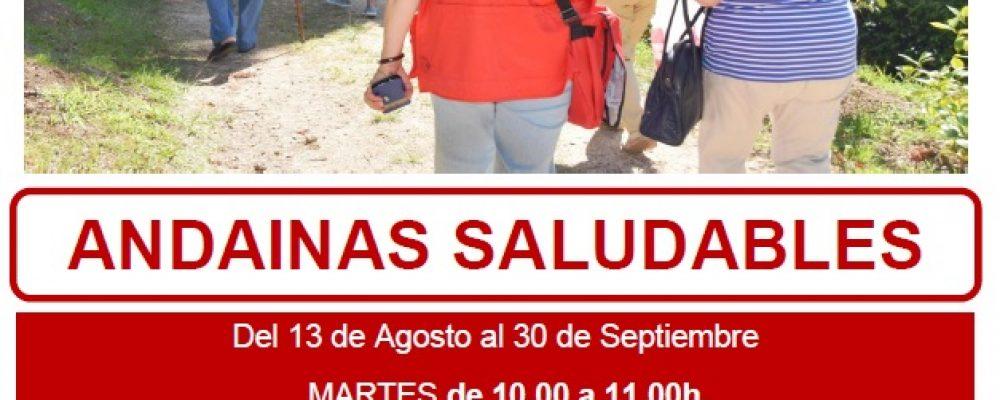 O CONCELLO DE CAMBADOS COLABORA COA CRUZ VERMELLA NAS ANDAINAS SAUDABLES