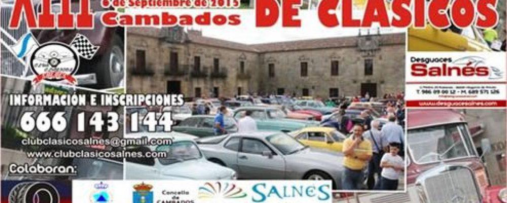 XIII CONCENTRACIÓN DO ALBARIÑO DE CLÁSICOS DO SALNÉS