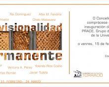 "Inauguración da exposición ""provisionalidad permanente"", de PRACE"