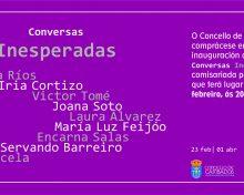 """Inauguración de la exposición """"Conversas inesperadas"""""""