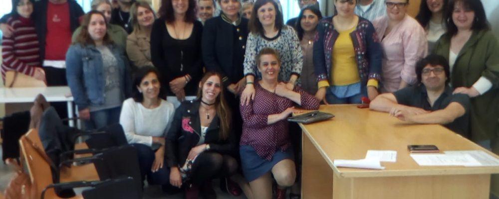 A alcaldesa Fátima Abal clausura o curso AFD no centro sociocultural da Mercé
