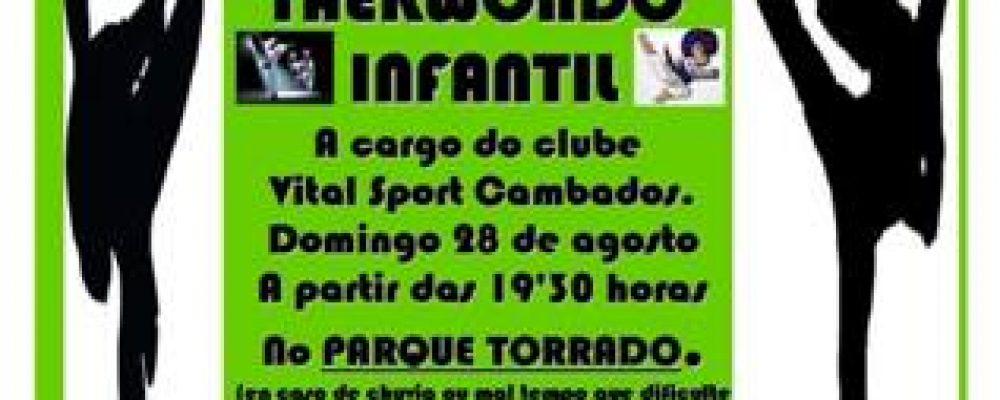 EXHIBICIÓN DE TAEKWONDO INFANTIL