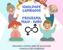 Cambados en Igualdad: programa de actividades