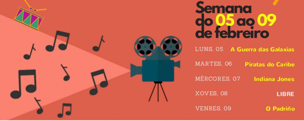 Música de cine no Auditorio Municipal